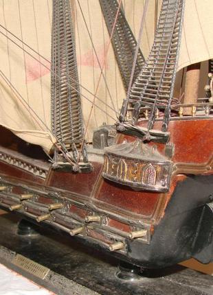Испанская каравелла xv века, импортная масштабная модель3 фото