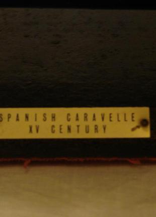 Испанская каравелла xv века, импортная масштабная модель5 фото