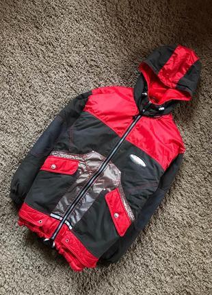 Ооочень тёплая куртка на синтепоне унисекс осень-зима