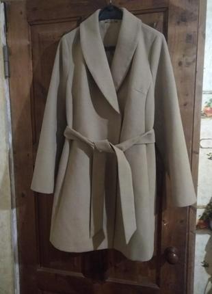 Пальто демисезоннное, на запах