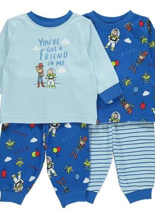 Комплект пижам george хлопок не утепленная пижама история игрушек