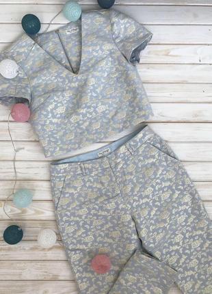 Классный костюм (штаны и топ) miss selfridge