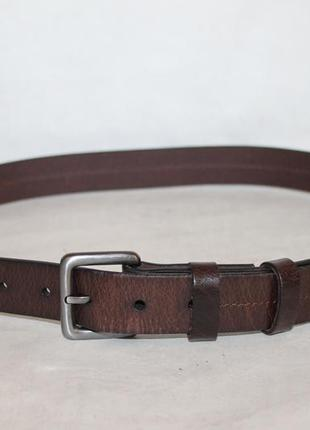 Кожаный ремень marks&spenser