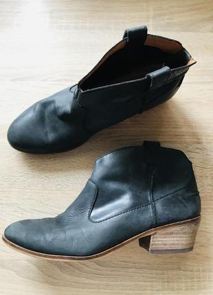 Полностью кожаные ботиночки