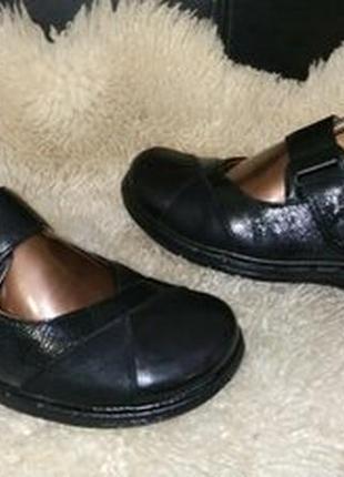 Clarks туфли кожа