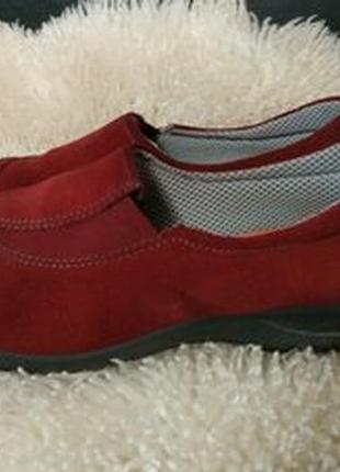 Мокасіни туфли замша