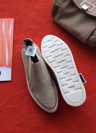 Туфли лоферы слипоны (натуральная кожа и замша), стелька 25, финляндия2 фото