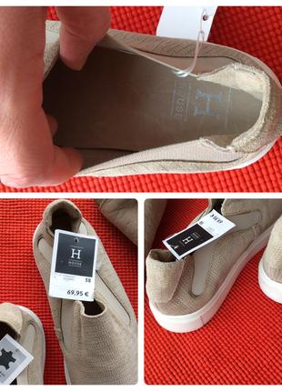Туфли лоферы слипоны (натуральная кожа и замша), стелька 25, финляндия5 фото