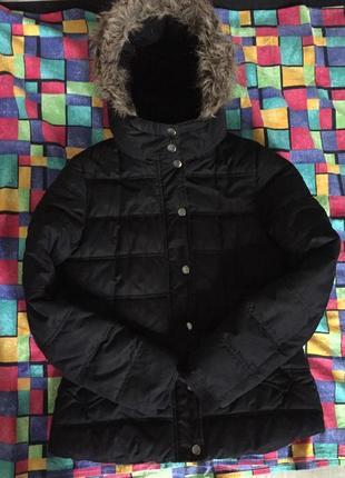 Куртка фирменная м  tu оригинал курточка зимняя пуховая пуховик зима