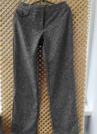 Шерстяные теплые брюки