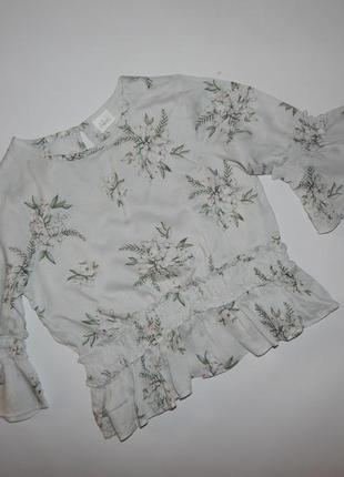 Модная блузка на девочку next 4 года