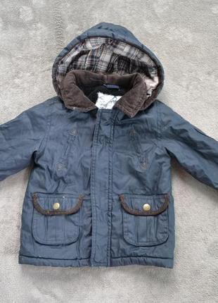 Утеплена куртка парка на 12-18 м