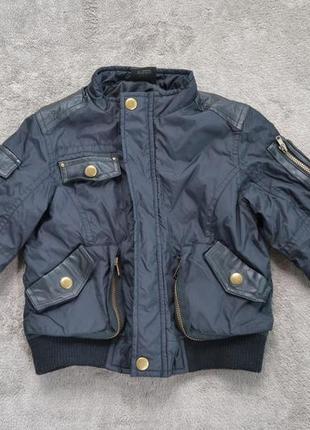Утеплена куртка балонова на 12-18 м