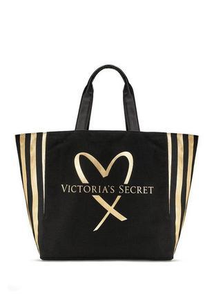 Велика стильна сумка шоппер американського бренду victoria's secret!! оригінал!!
