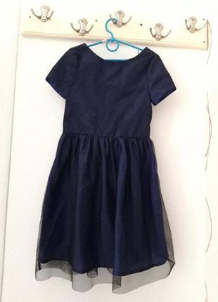 H&m нарядное платье 7- 8 лет рост 128 см