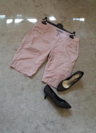 Нюдовые шорты в стиле casual бренд-street one-10/12    распродажа