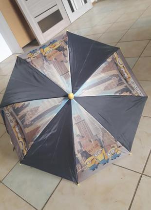 Зонтик миньоны отличное качество