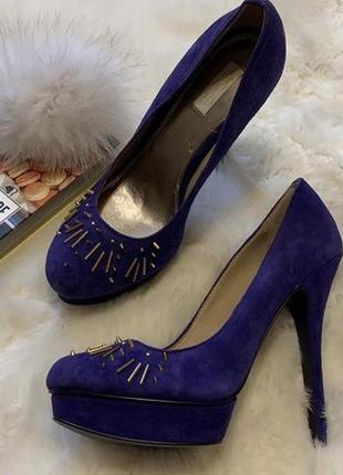 Синие замшевые туфли rachel rachel roy lenaya оригинал, сша