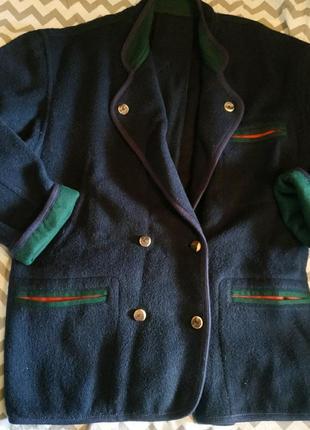 Пальто-жакет , размер 54