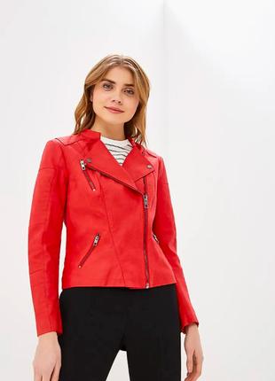 Красная куртка only