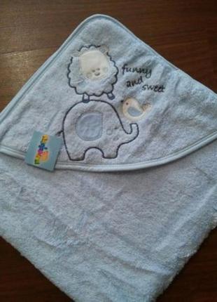 Полотенце с уголком для головы