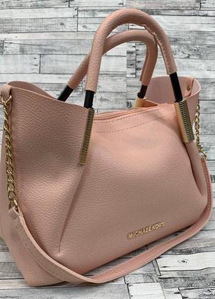 Вместительная женская сумка, кожаная женская сумка