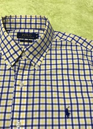 Мужская рубашка polo ralph lauren slim-fit оригинал с новых коллекций