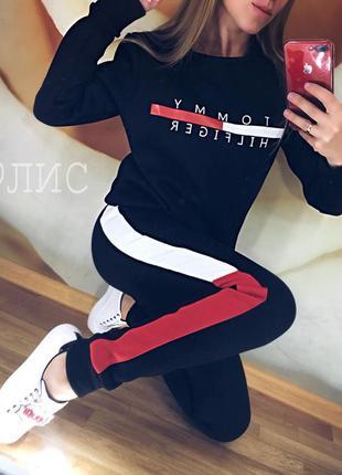 Стильный спортивный костюм tommy2 фото