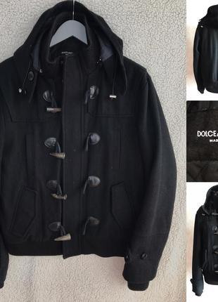 Шикарное пальто d&g в идеале м/л