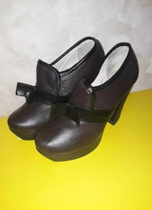 Мега удобные кожаные туфли!!!