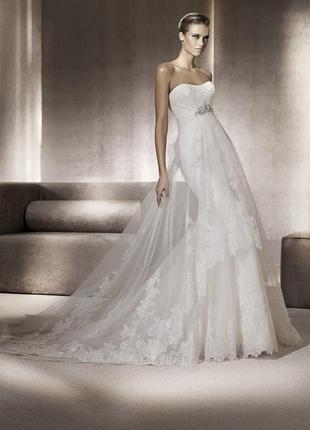 Свадебное платье, весільна сукня pronovias pompeya 2012 оригінал