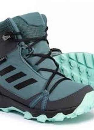Детские ботинки adidas terrex snow термо зимние