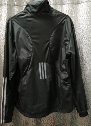 Олимпийка из плащевки, adidas, размер м.