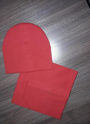 Комплект шапка/хомут