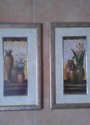 Картина диптих