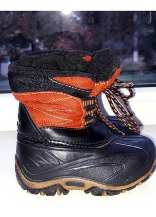 Зимние, резиновые ботинки-сапоги antis