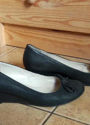 Комфортные кожаные туфли 5-е авенью