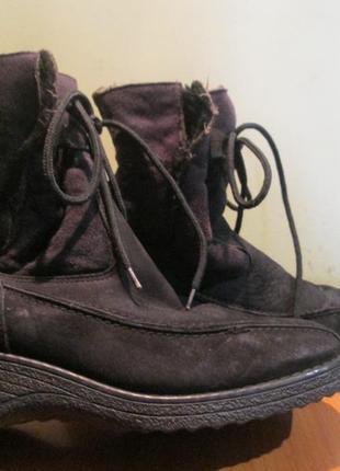 Ботинки зимние р.37.обувь из европы.читаем...
