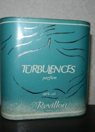 Духи revillon turbulences, оригинал, снятость, винтаж