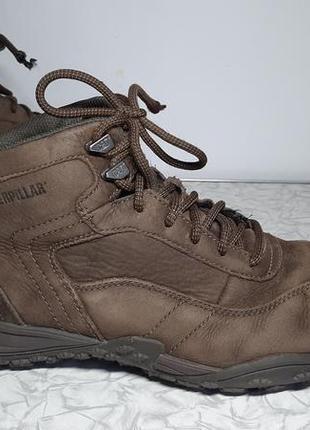 Кожаные сапоги,ботинки caterpillar (катерпиллер), 42р,стелька27см, хорошее состояние