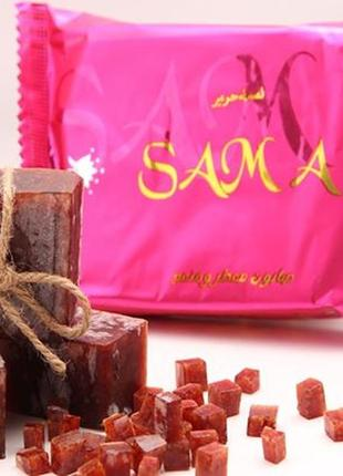 Шикарное парфюмированное арабское мыло класса lux buabed banafa sama