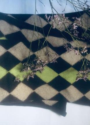 Стильный шарф 🧣 из шерсти ангоры