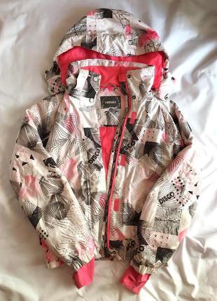 Обалденная лыжная куртка бу