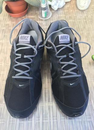Мужские кроссовки nike reax run кожа кожаные размер 46,5