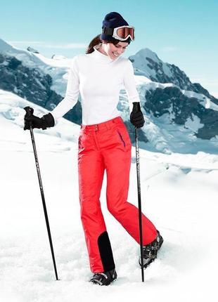 Шикарные лыжные термо штаны мембрана 3000 от тсм чибо (tchibo), германия размер укр 40-42