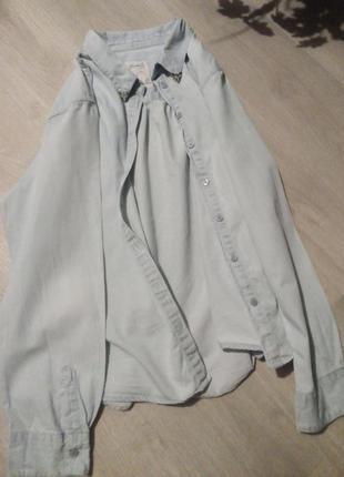 Джинсовая рубашка denim co