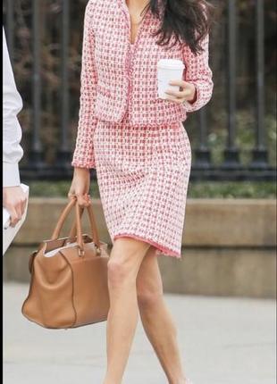 Твидовый пиджак/жакет в стиле chanel 🌷