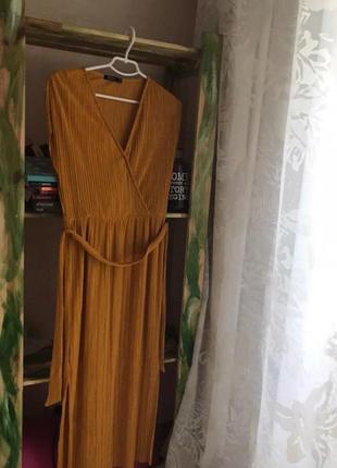 Платье в рубчик от bershka