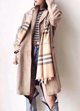 Стильный шарф палантин бренд