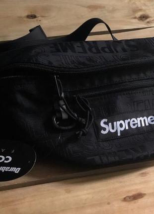 Бананка supreme waist bag fanny pack сумка на пояс